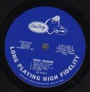 LP - Sarah Vaughan - Same - rare original us