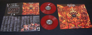 Double LP - Satan's Host - By The Hands Of The Devil - Red