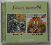 CD - Savoy Brown - Looking In / Lion's Share