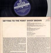 LP - Savoy Brown - Getting To The Point - ORIGINAL UK Unboxed