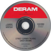 CD - Savoy Brown - Street Corner Talking