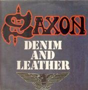 LP - Saxon - Denim And Leather