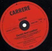 LP - Saxon - Denim And Leather