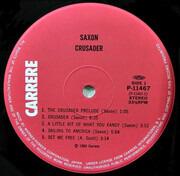 LP - Saxon - Crusader - Gatefold