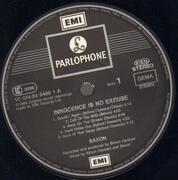 LP - Saxon - Innocence Is No Excuse