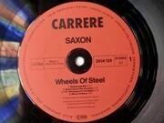 LP - Saxon - Wheels Of Steel