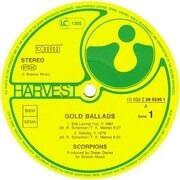LP - Scorpions - Gold Ballads
