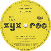 12inch Vinyl Single - Scotch - Pictures (The Power Mix)