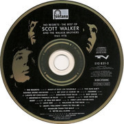 CD - Scott Walker And The Walker Brothers - No Regrets - The Best Of Scott Walker And The Walker Brothers - 1965 - 1976