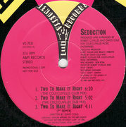 12'' - Seduction - Two To Make It Right