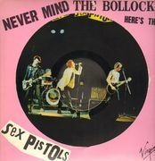 Picture LP - Sex Pistols - Never Mind The Bollocks Here's The Sex Pistols