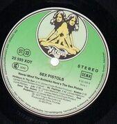 LP - Sex Pistols - Never Mind The Bollocks Here's The Sex Pistols - FIRST GERMAN PRESS