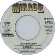 7inch Vinyl Single - Shannon - It's You / Sweet Somebody