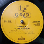 12inch Vinyl Single - Shannon - Let The Music Play / Give Me Tonight