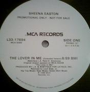12'' - Sheena Easton - The Lover In Me - Promo
