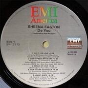 LP - Sheena Easton - Do You - Still sealed