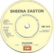 7'' - Sheena Easton - Telefone (Long Distance Love Affair)