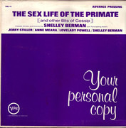 LP - Shelley Berman - The Sex Life Of The Primate (And Other Bits Of Gossip)