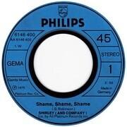 7inch Vinyl Single - Shirley & Company - Shame, Shame, Shame (Original-Version)