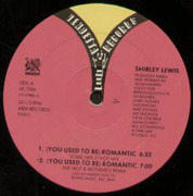12inch Vinyl Single - Shirley Lewis - (You Used To Be) Romantic