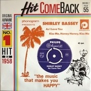 7'' - Shirley Bassey - As I Love You