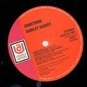LP - Shirley Bassey - Something