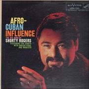 LP - Shorty Rogers - Afro-Cuban Influence