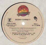 12inch Vinyl Single - Siedah Garrett - Refuse To Be Loose - Promo