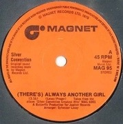 7'' - Silver Convention - (There's) Always Another Girl