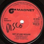 7'' - Silver Convention - Get Up And Boogie - Solid centre