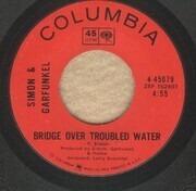 7inch Vinyl Single - Simon & Garfunkel - Bridge Over Troubled Water / Keep The Customer Satisfied