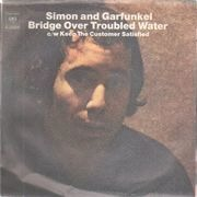 7inch Vinyl Single - Simon & Garfunkel - Bridge Over Troubled Water