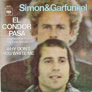 7inch Vinyl Single - Simon & Garfunkel - El Condor Pasa