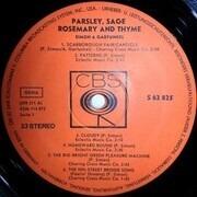 LP - Simon & Garfunkel - Parsley, Sage, Rosemary & Thyme