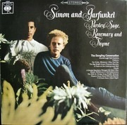 LP - Simon & Garfunkel - Parsley, Sage, Rosemary And Thyme