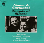 7inch Vinyl Single - Simon & Garfunkel - Sounds Of Silence