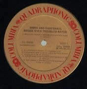 LP - Simon & Garfunkel - Bridge Over Troubled Water - Quadraphonic