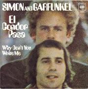 7'' - Simon & Garfunkel - El Condor Pasa