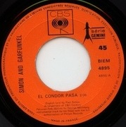 7'' - Simon & Garfunkel - El Condor Pasa / Why Don't You Write Me