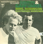 7'' - Simon & Garfunkel - Mrs. Robinson