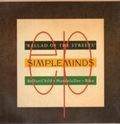 12'' - Simple Minds - Ballad Of The Streets