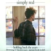 12'' - Simply Red - Holding Back The Years