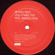 12'' - Simply Red - You Make Me Feel Brand New