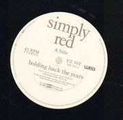 12inch Vinyl Single - Simply Red - Holding Back The Years