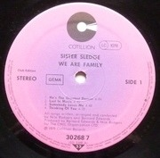 LP - Sister Sledge - We Are Family - Club Edition