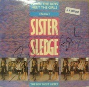 12'' - Sister Sledge - When The Boys Meet The Girls