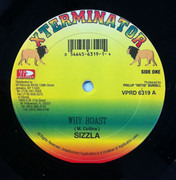 12inch Vinyl Single - Sizzla / Prince Malachi - Why Boast / Healing In The Street