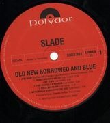 LP - Slade - Old New Borrowed and Blue