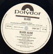 LP - Slade - Slade Alive! - Original German, Promo