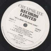 LP - Slade - We'll Bring The House Down - Cheapskate UK